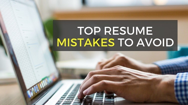 common resume mistakes to avoid