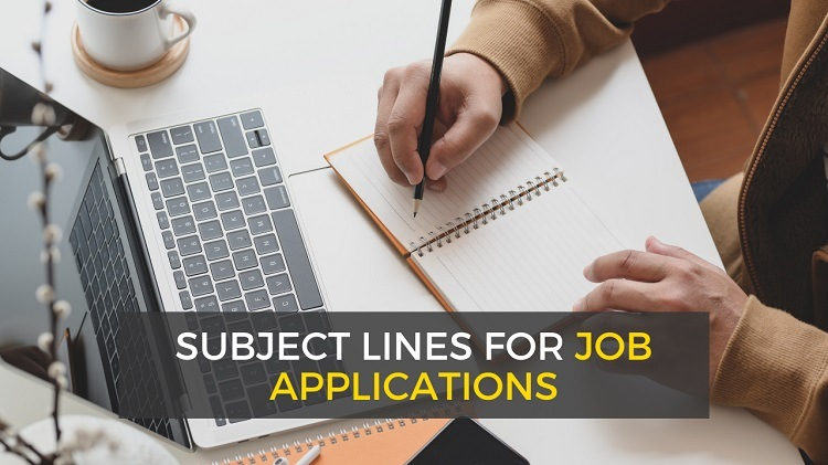 subject lines for job applications