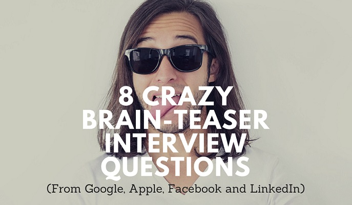 brain teaser interview questions google apple facebook