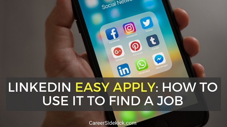 how to use linkedin easy apply