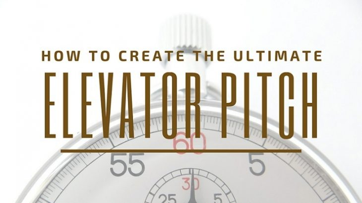 how to create the best elevator pitch