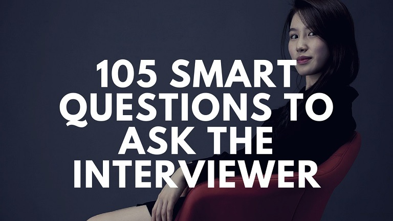 105 questions to ask in job interview