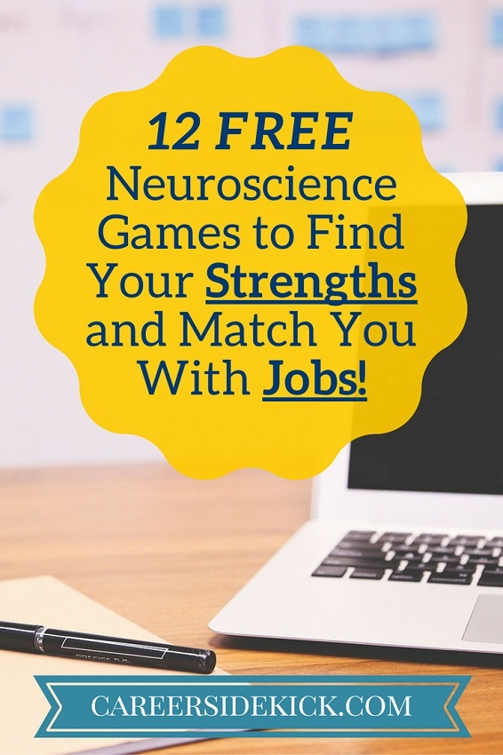 Free neuroscience and brain training games to find jobs for new grads