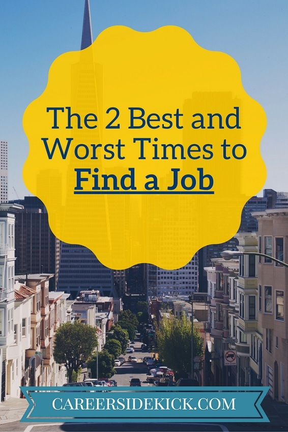 best time to look for a job
