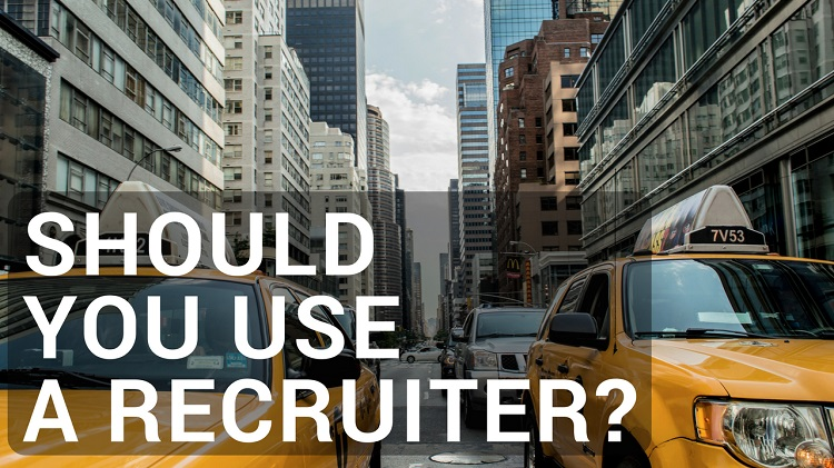 should i use a recruiter to find a job