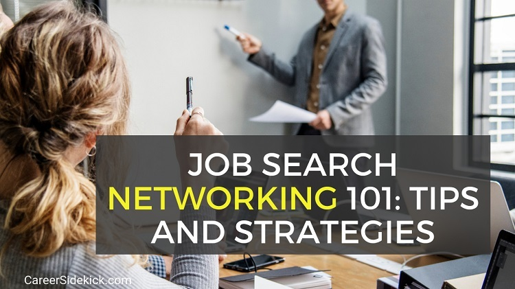 Job Search Networking Tips for Job Seekers