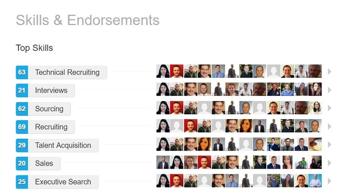 linkedin difference between recommendations and endorsements