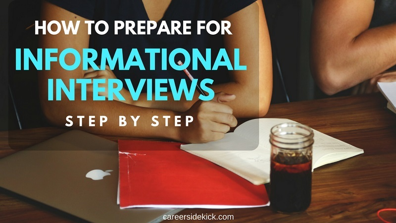 how to prepare for informational interviews tips