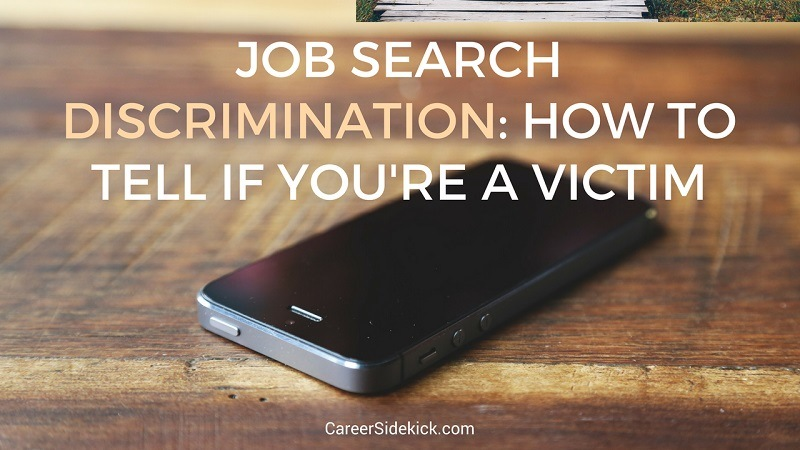 discriminated against in job search hiring process