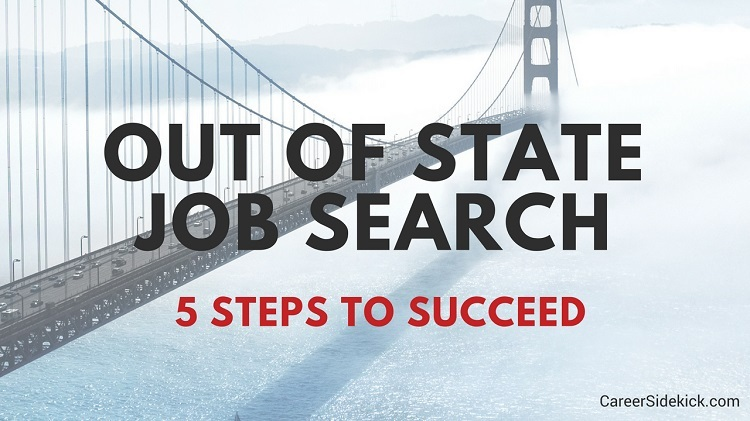 applying for out of state jobs