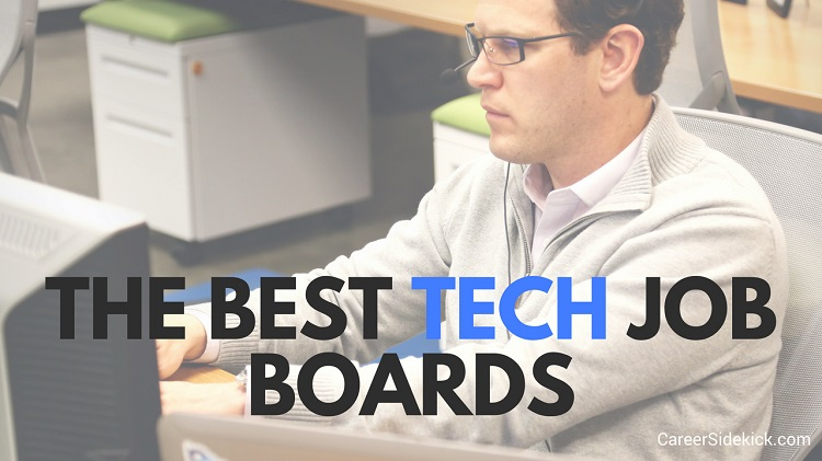 best tech job boards