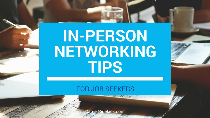 face to face networking tips