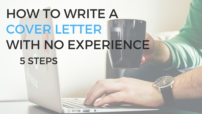 writing a cover letter with no experience