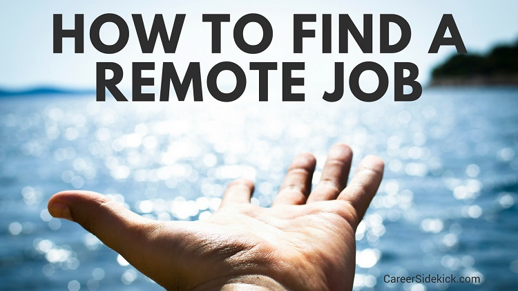 how to find a full time remote job
