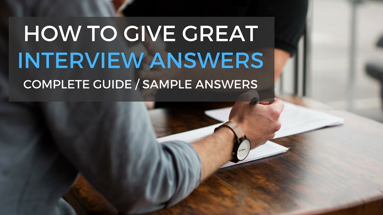 sample answers to interview questions