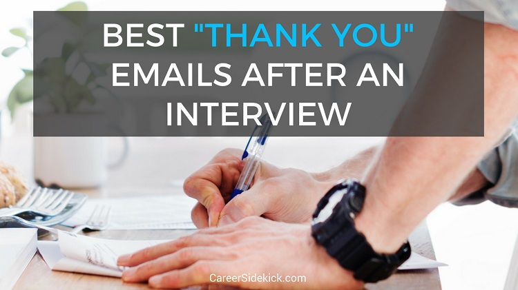 thank you emails after interview