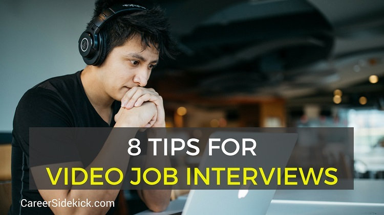 video job interview tips