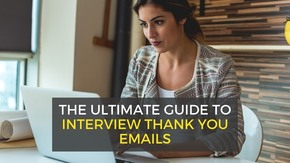thank you emails after interview - samples