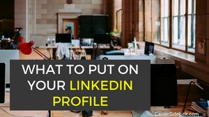 what to put on linkedin profile