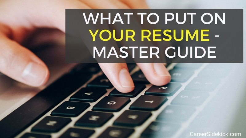 what to put in a resumes