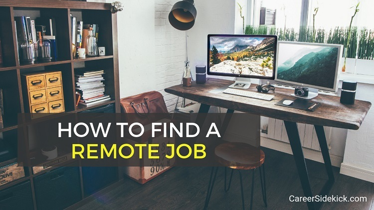 how to find remote work