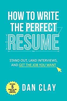 how to write the perfect resume - book