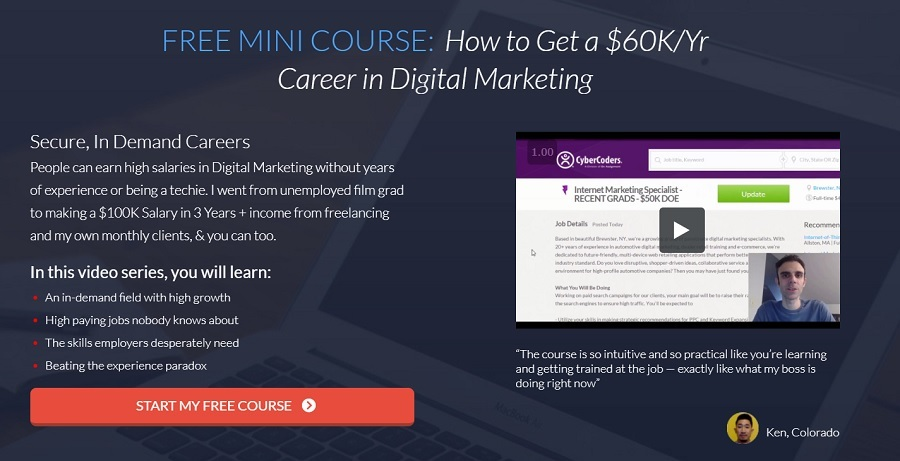 recommended course to learn digital marketing online