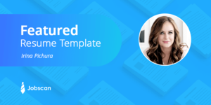 best resume template - job search resource