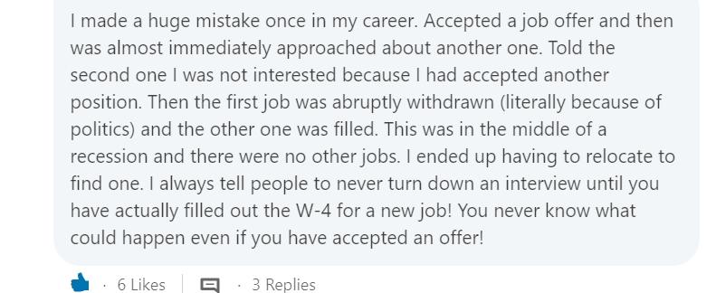 how to turn down or decline a job offer - mistake to avoid