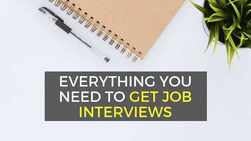applying for jobs and getting interviews