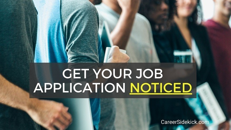 How to Get Your Job Application Noticed - creative ways to apply