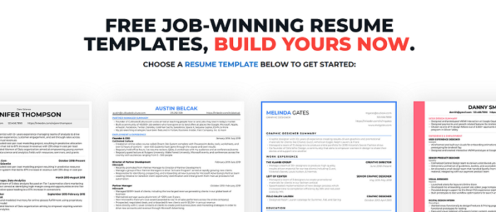 resume builder 1 - job search resource