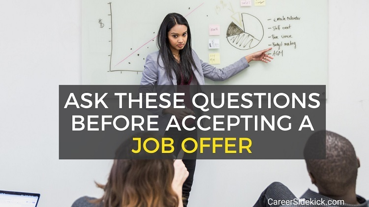 Questions to Ask Before Accepting a Job