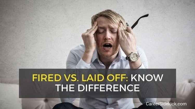 demitido vs. demitido vs. encerrado - diferenças e o que dizer