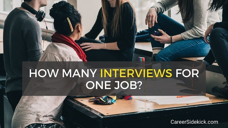 how many interviews for one job
