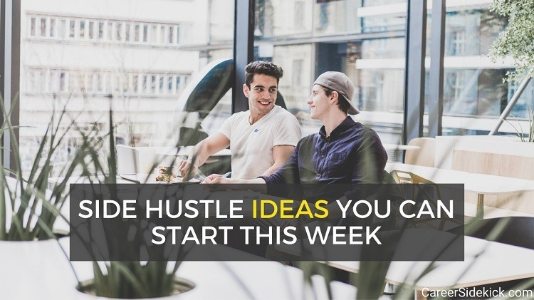 lucrative and easy side hustle ideas