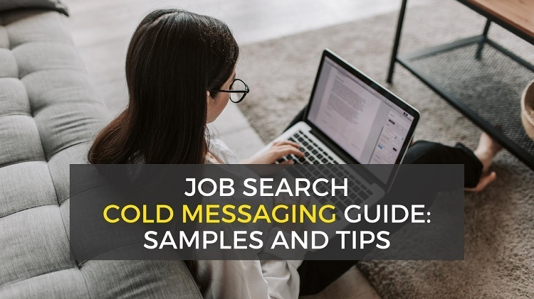 linkedin cold message guide - how to reach out to someone about a job