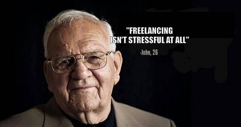 Is freelancing difficult and stressful