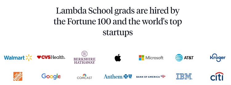 lambda school bootcamp hiring partners