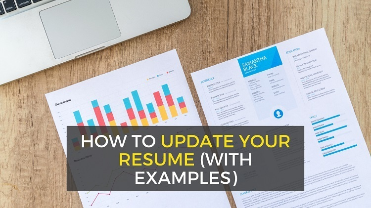 How to update your resume - steps and examples