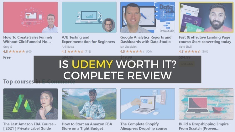 udemy review - is udemy worth it