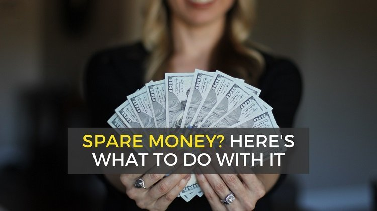 what to do with extra money and income each month