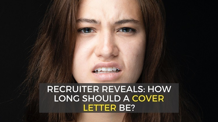 How long should your cover letter be